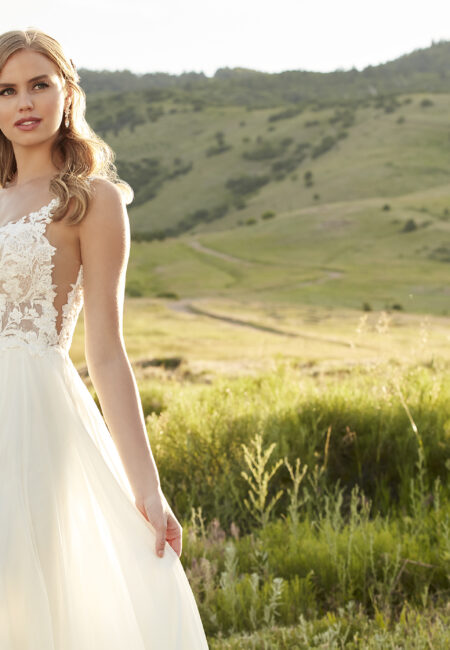 Brautmode, Braut in der Natur