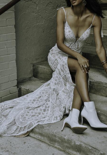 Brautkleid, Boho-Hochzeitskleid, All Who Wander