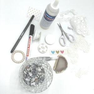 DIY, Popsocket, Materialien, Schere, Kleber