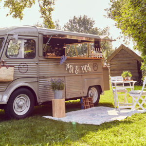 Foodtruck, Weddinglocation, Hochzeit feiern, Natur