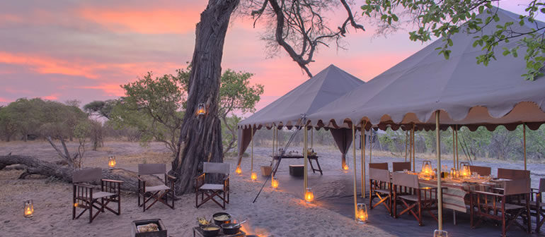 Glamping, Safari, Reisen, Flitterwochen, Honeymoon