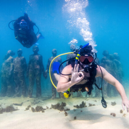 Schnorcheln, Karibik, Flitterwochen