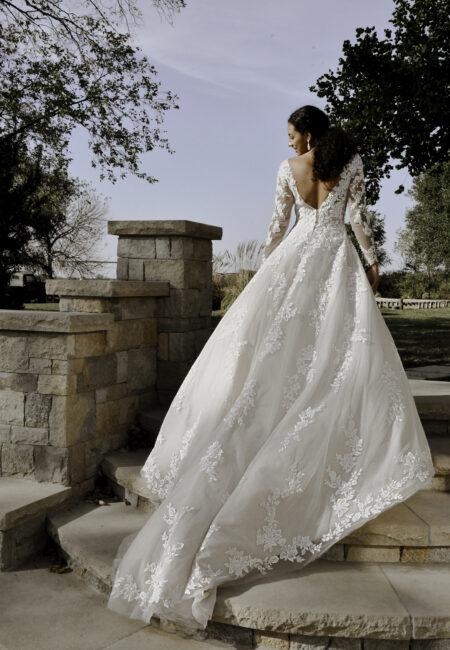 Braut, Brautkleid aus Spitze, Stella York