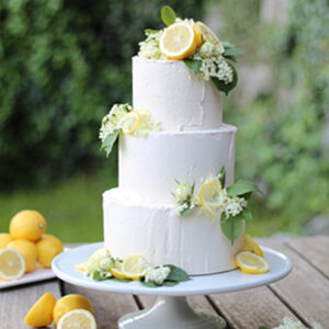 Hochzeitstorte, dreistöckig, Torte, Sweet Table, Hochzeitskuchen